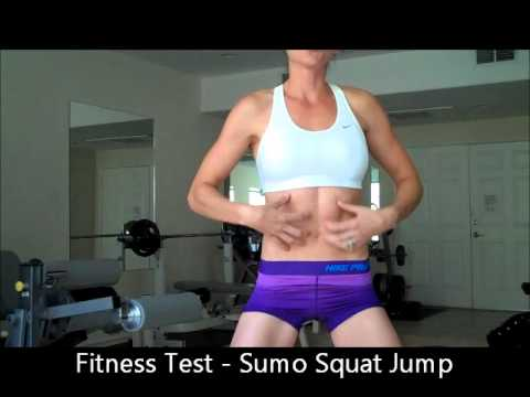 fitness test sumo squat jump youtube. Black Bedroom Furniture Sets. Home Design Ideas