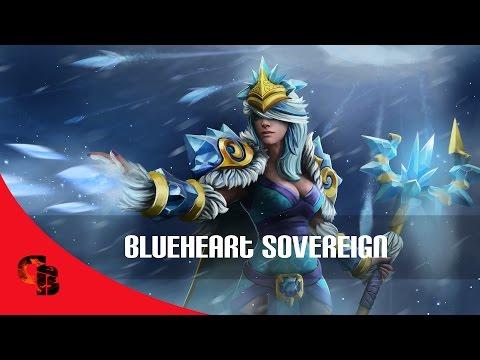 Dota 2: Store - Crystal Maiden - Blueheart Sovereign