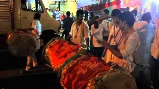 Dhol Lezim - Pune Ganpati Visarjan Laxmi Road 2015