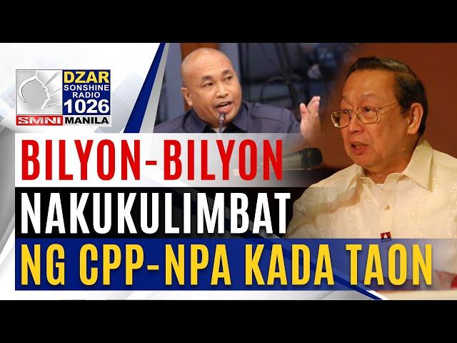 Ka Eric: Bilyon-bilyong ang nakukulimbat mula sa pangingikil kada taon.
