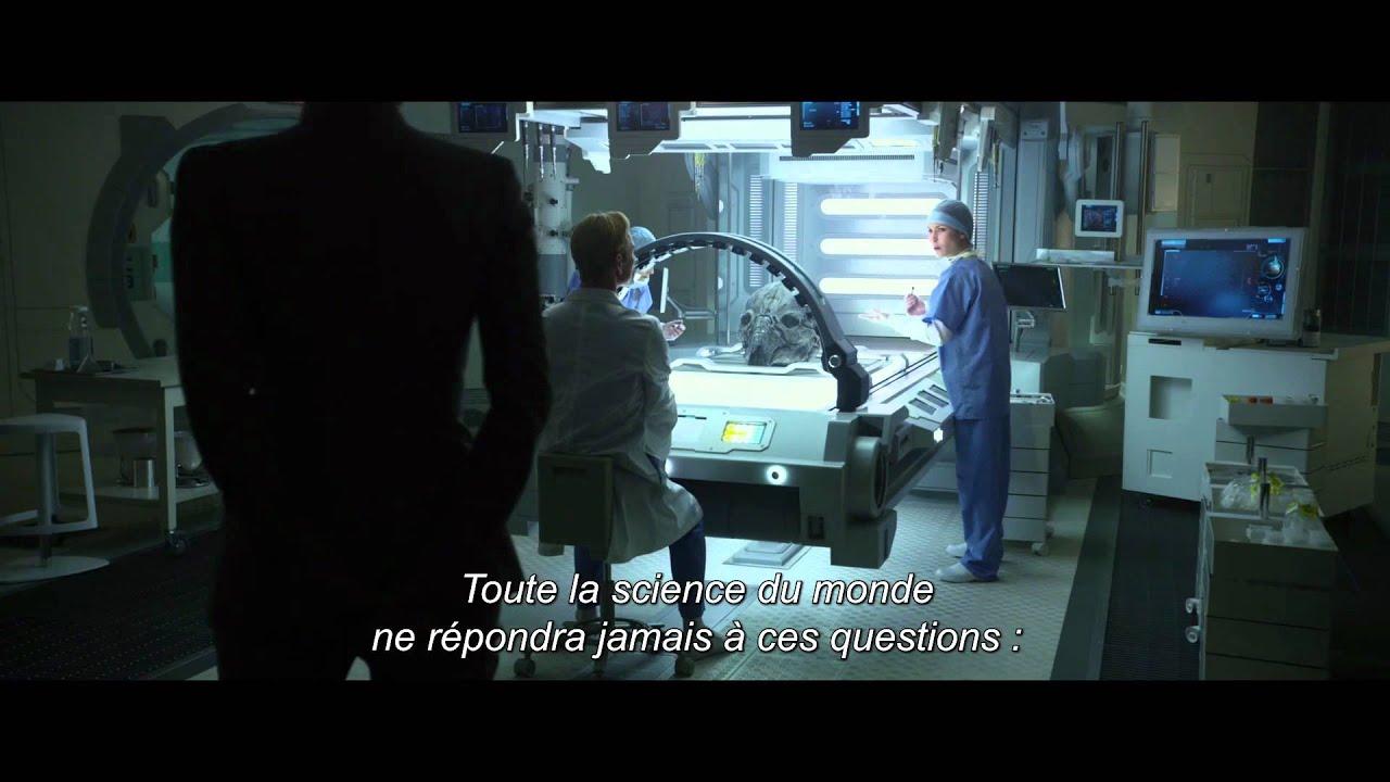 Prometheus - Personnage d' Elizabeth Shaw VOST HD