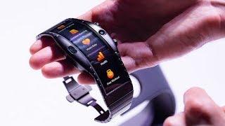 الساعة Nubia Alpha تملك بداخلها هاتف محمول!