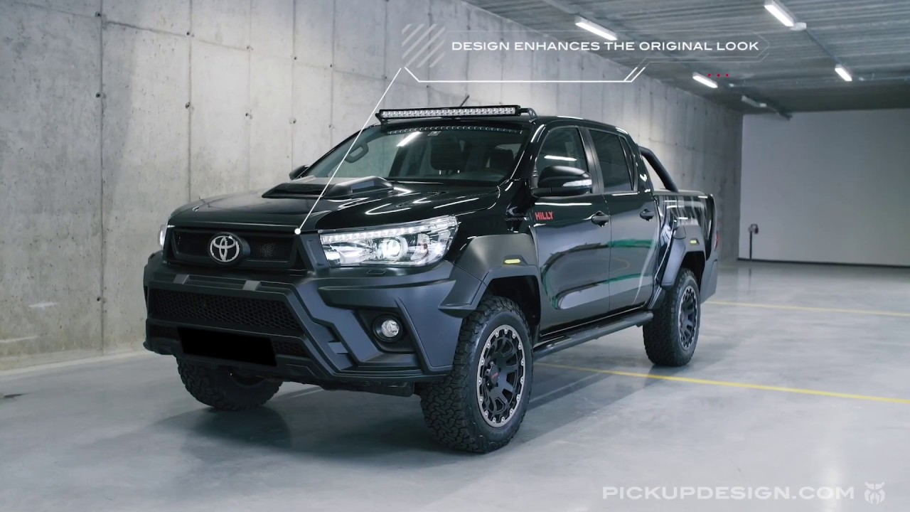 Toyota Hilux Hilly Limited Edition By Pickup Design  Review Of Exterior  U0026 Interior Modifications