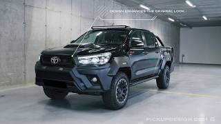 Toyota Hilux Hilly Limited Edition by Pickup Design: review of exterior & interior modifications