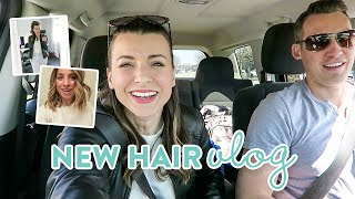 House Furniture Shopping + New Hair Makeover!