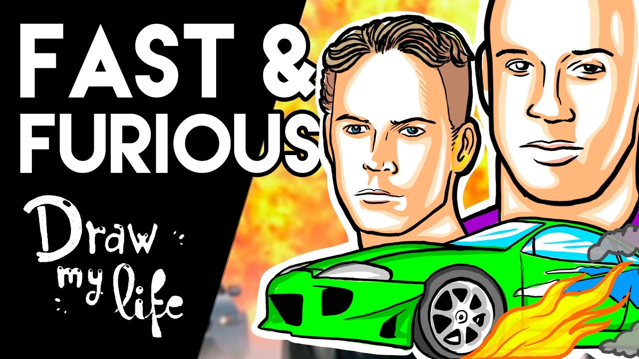 La HISTORIA de FAST AND FURIOUS - Draw My Life