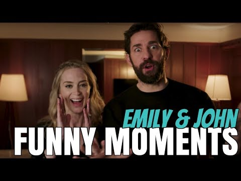 Emily Blunt & John Krasinski Cute Funny Moments