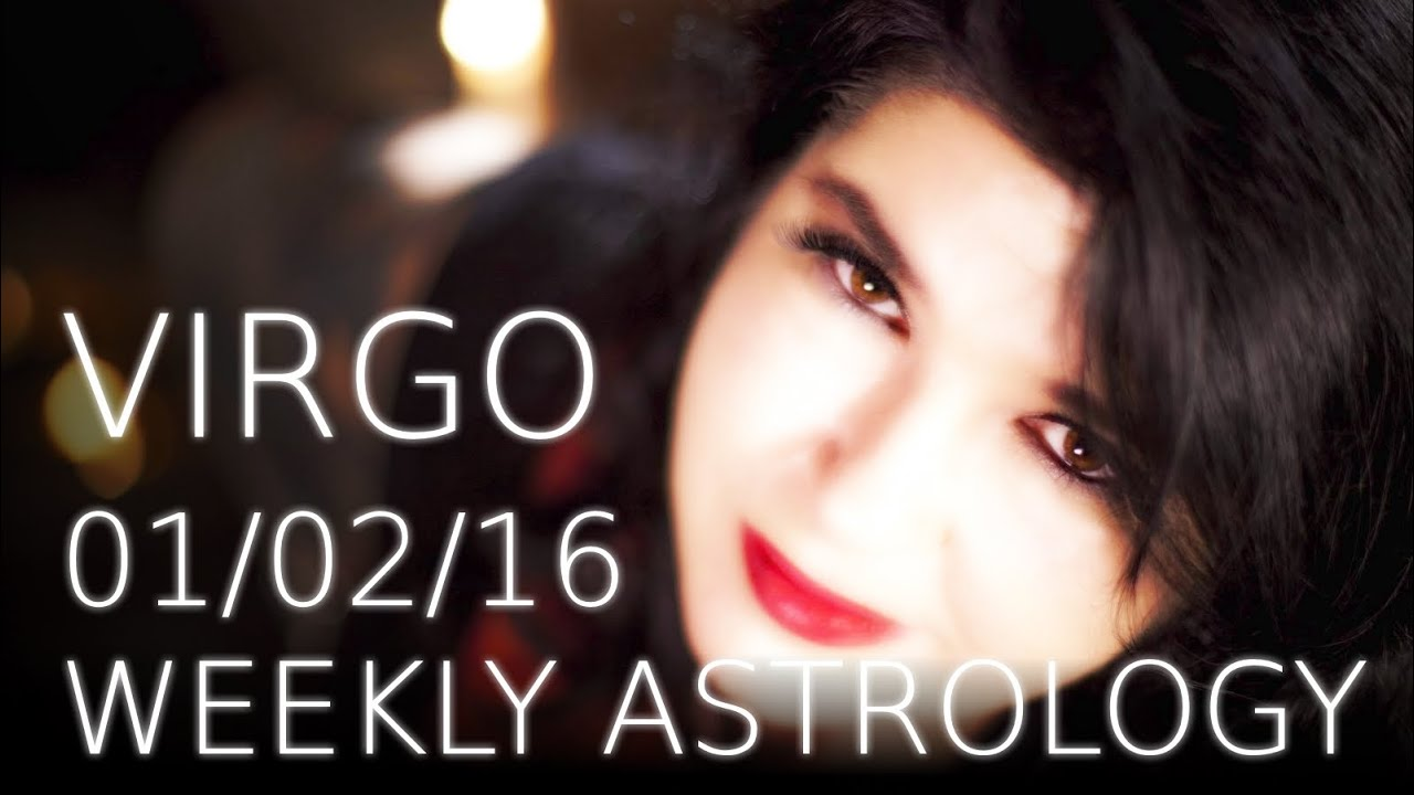 Virgo Weekly Astrology 1st February 2016 with Michele Knight