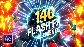 Скачать Use Flash Effects To Make Your Motion Graphics Pop After Effects Tutorial