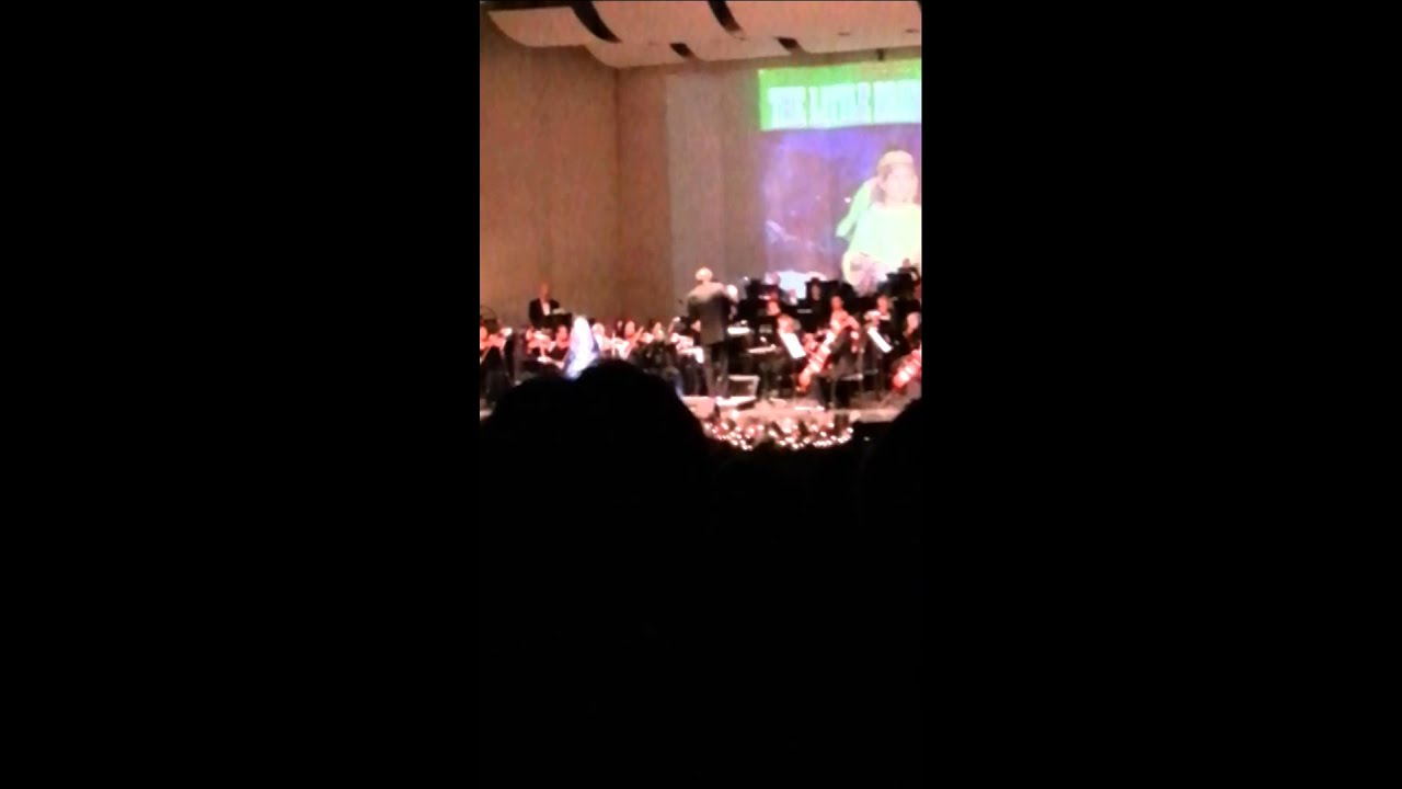 little drummer boy in spanish and english with the orchestra