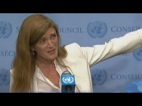 Seriously?' Samantha Power on Russia calling for UN meeting