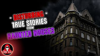 5 DISTURBING True Stories from Haunted Houses (Ghost Photo in Video!) - Darkness Prevails