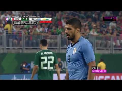 Mexico Vs Uruguay 1 4 All Goals & Highlights Friendly Match 2018 FHD 1080P