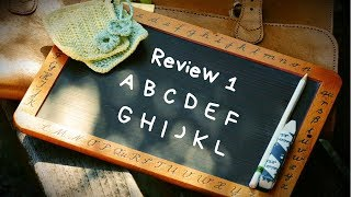 phonics 1 review 1 letters a b c d e f g h i j k and l english lesson