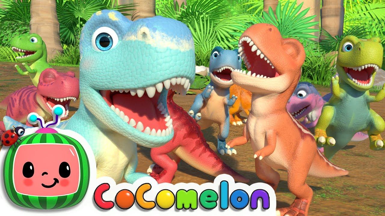 Ten Little Dinos | CoComelon Nursery Rhymes & Kids Songs