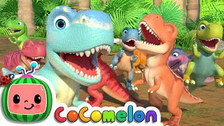 Ten Little Dinos | CoComelon Nursery Rhymes & Kids Songs