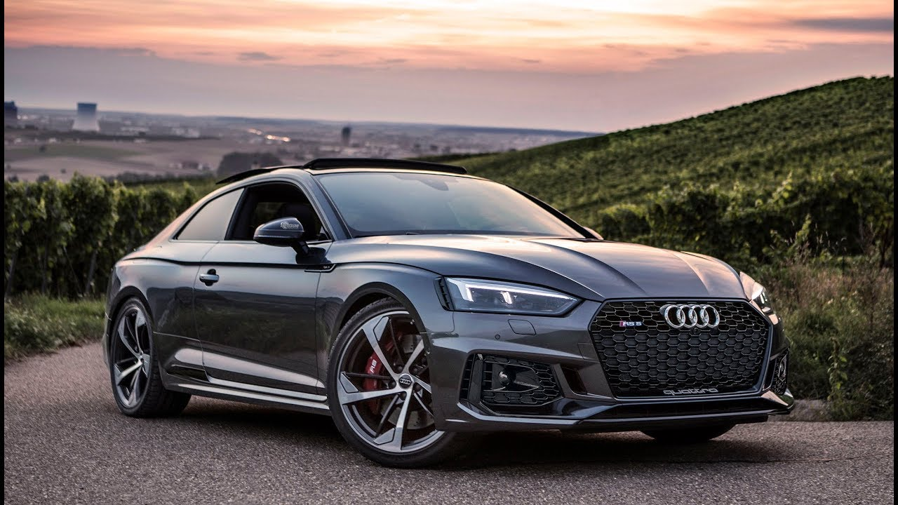 perfectly specced the new 2018 audi rs5 coup 450hp 600nm biturbo daytona gray in detail. Black Bedroom Furniture Sets. Home Design Ideas
