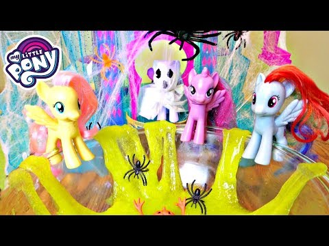 My Little Pony Halloween Party With Slime Pool!   Mommy Etc