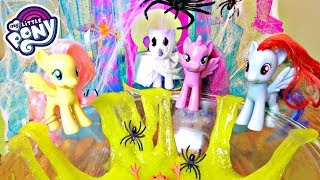 My Little Pony Halloween Party with Slime Pool! | Mommy Etc