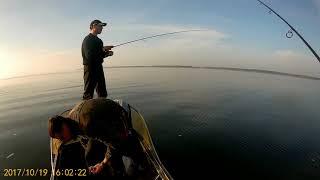 Рыбалка в с Орлик Днепродзержинское водохранилище 2017 год 19 10 2017 г
