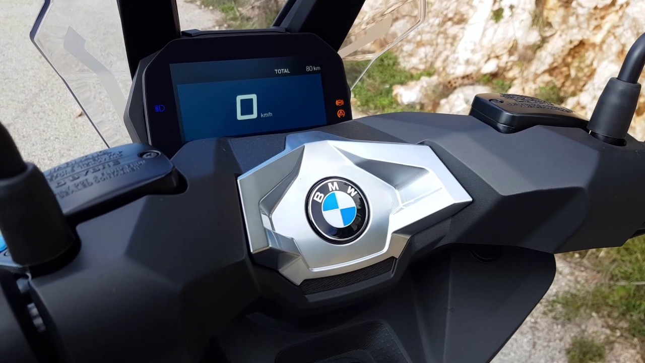 BMW C400X in Greece 04-02-2019
