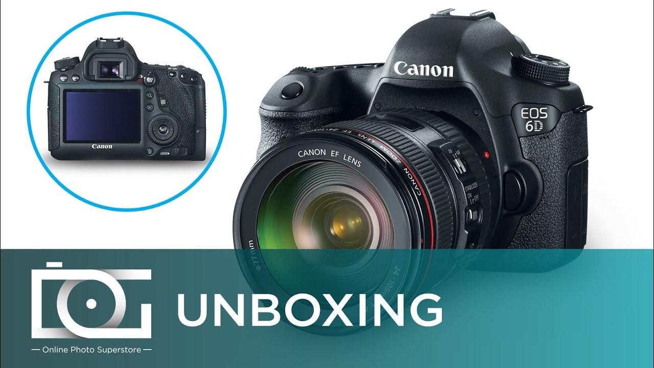 UNBOXING REVIEW | CANON EOS 6D Digital SLR Full Frame Camera w/ EF ...