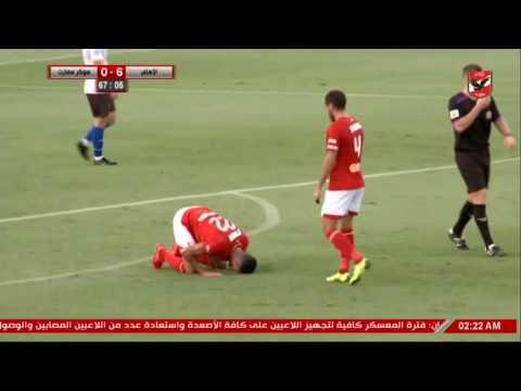 شاهد اهداف مباراة الاهلى امام سوكر سمارت 9/0 'كاملة'