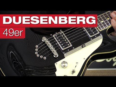 Duesenberg 49er BK E-Gitarren-Review von session