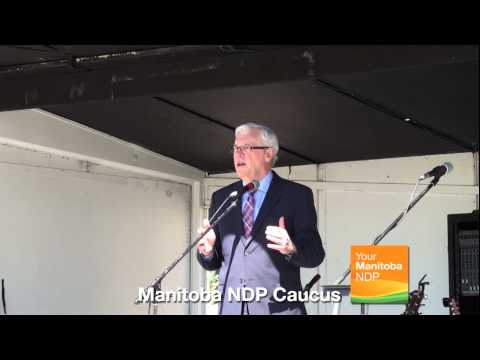 Aboriginal Day at the Manitoba Legislature: Premier Greg Selinger