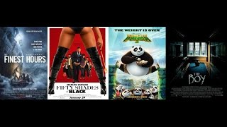 AJ's Movie Reviews: Kung Fu Panda 3, Fifty Shades of Black, The Boy & The Finest Hours(1-29-16)