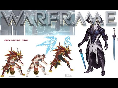 Warframe Chroma Amp Frost Deluxe Skins Youtube