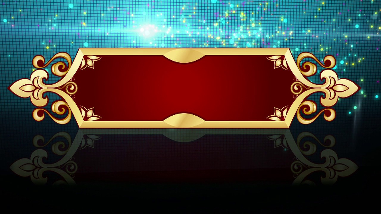 Hd Free Royalty Background Animation Graphics Wedding Title