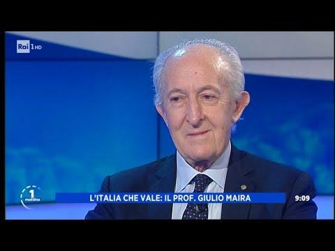 Giulio Maira - Unomattina 12/12/2019