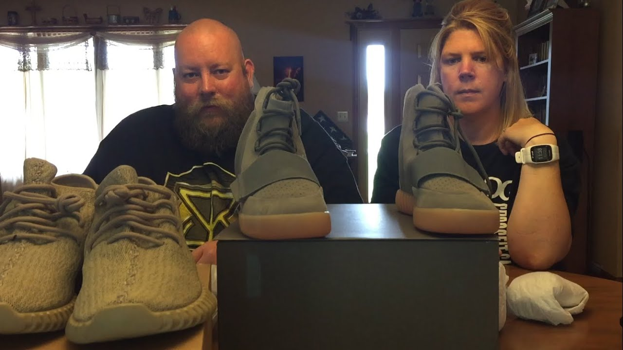 86e7dc85334b Unauthorized Authentic Yeezy 750 Grey Gum   350 Tan Unboxing DON T GET  SCAMMED BY FAKES