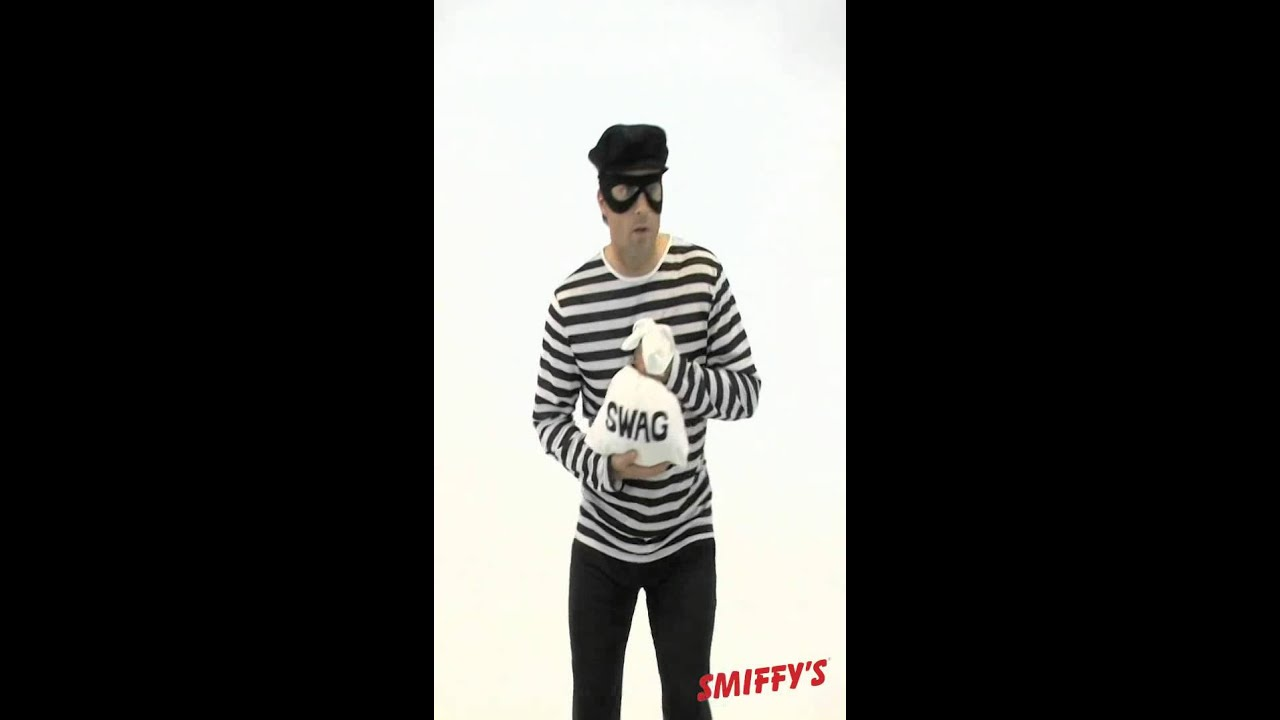 Diy Bank Robber Shirt Smiffy S Bank Robber Costume