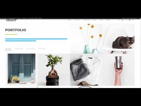 Veno WP Theme Visual Editor Tour
