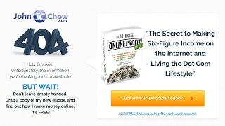Http://www.johnchow.com affiliate marketing bloopers. no one gets it perfect the on first try. key is to keep going and never give up. in end, yo...