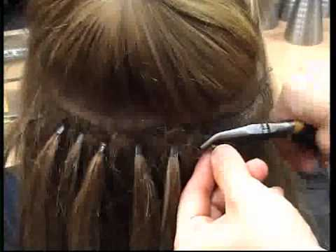 Microbead Weft Extensions And More From Paris Hairdressing