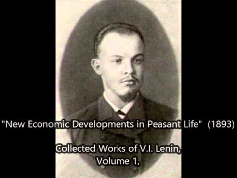 "New Economic Developments in Peasant Life - ""CHAPTER 4"" (by LENIN 1893)"