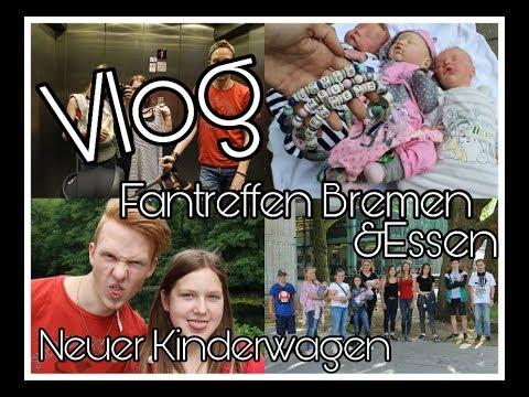 VLOG | Fantreffen Bremen Und Essen | Neuen Kinderwagen Kaufen || Reborn Baby Deutsch