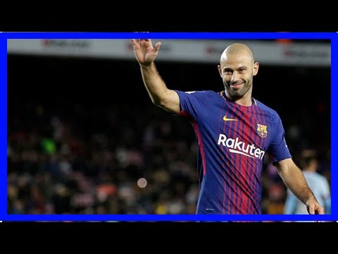 Barcelona confirm Javier Mascherano to leave for China - by Sports News