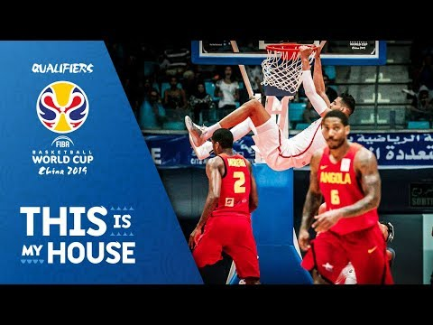 Tunisia v Angola - Full Game - FIBA Basketball World Cup 2019 - African Qualifiers