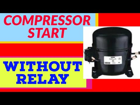 Compressor Start without Relay - YouTube