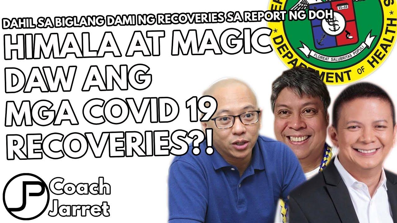 SABI NI PANGILINAN, HILBAY, ESCUDERO | 38,075 RECOVERIES MAGIC AT DINOKTOR DAW ANG REPORT NG DOH