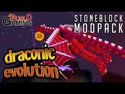 Den Sjukt Svåra Draken! - StoneBlock Modpack - #47