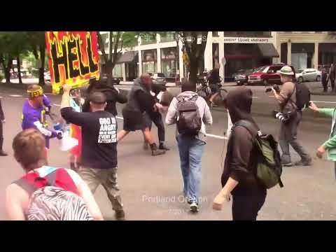 EVERYONE Vs ANTIFA - When two TRIBES go to WAR!