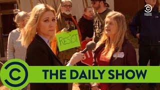 Are Trump Protesters Paid Actors? | The Daily Show with Trevor Noah