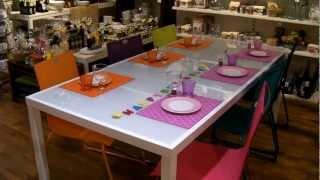 Repeat youtube video Bunte Tischdekoration Geburtstag