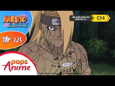 Naruto Shippuden Tập 125  Biến Mất  Trọn Bộ Naruto Lồng Tiếng