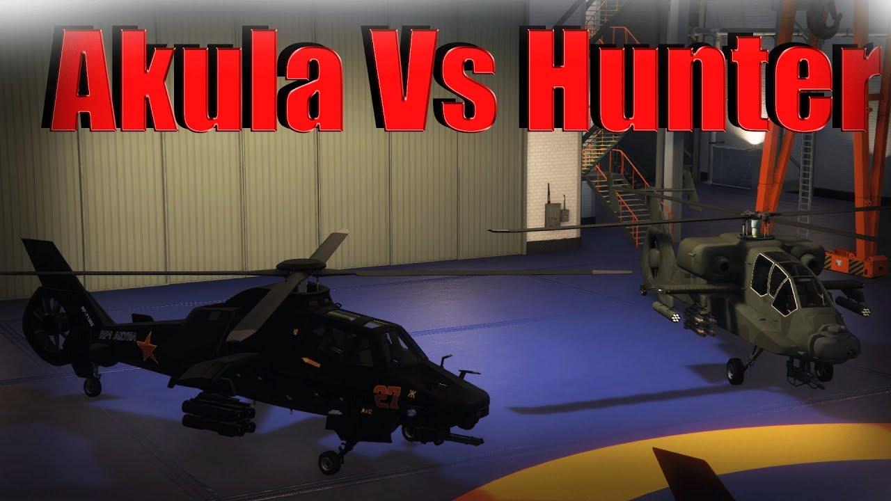 gta online akula or hunter